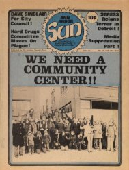 WE NEED A COMMUNITY CENTER !! - Ann Arbor District Library