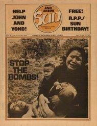 HELP JOHN YOKO! R.P.P./ SUN BIRTHDAY!