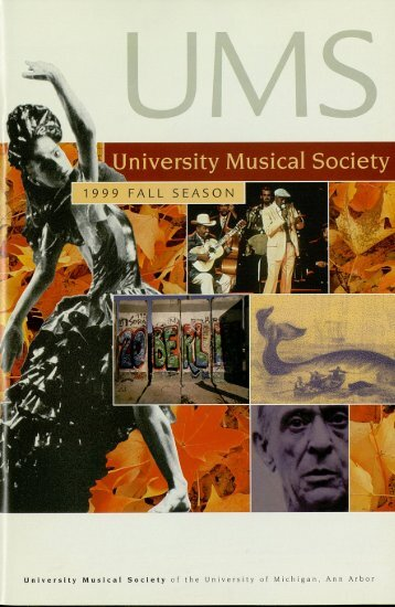 University Musical Society of the University of Michigan, Ann Arbor
