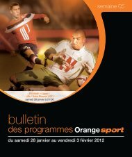BULLETIN SEMAINE 05.indd - Orange