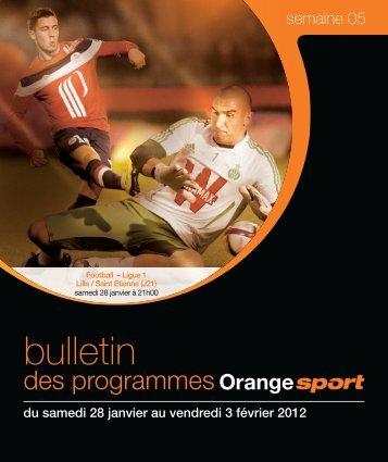 BULLETIN SEMAINE 05.indd - Orange