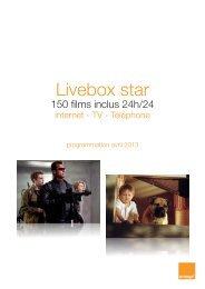 Livebox star - Orange