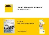 ADAC Motorwelt Mediakit - ADAC Verlag