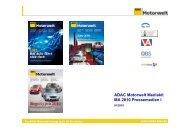 ADAC Motorwelt Mediakit MA 2010 Pressemedien I - ADAC Verlag