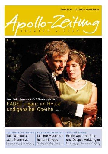 Die neue Apollo-Zeitung - APOLLO-Theater Siegen
