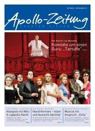 """Komödie um einen Guru: """"Tartuffe""""Seite 4 - APOLLO-Theater Siegen"""