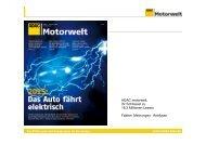 ADAC motorwelt, Ihr Schlüssel zu 18,3 Millionen ... - ADAC Verlag