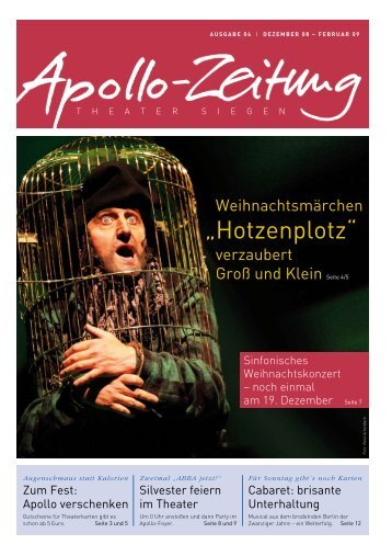 """Hotzenplotz"" - APOLLO-Theater Siegen"