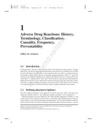 Adverse Drug Reactions - Axon