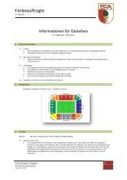Fanbeauftragte - Borussia Dortmund