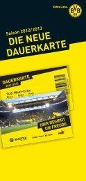 Infoflyer BVB Dauerkarten2012-2013 RZ_K-werk - Borussia Dortmund