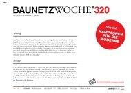 Baunetzwoche#320: Kampagnen für die Moderne