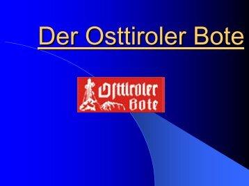Der Osttiroler Bote