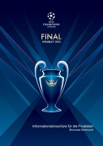 Informationsbroschüre für die Finalisten - Borussia Dortmund