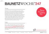 BAUNETZWOCHE#247