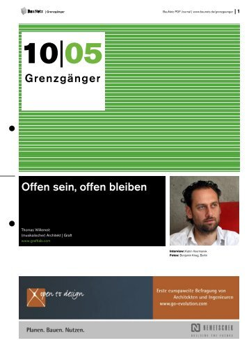 Thomas Willemeit - BauNetz