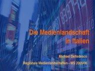 Medienlandschaft Italien