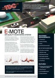 E-MOTE - TDC Systems