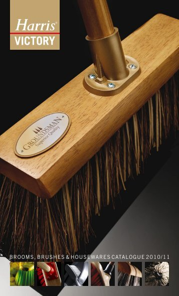 brooms, brushes & housewares catalogue 2010/11 - Brintex
