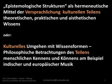 """""""Epistemologische Strukturen"""" als hermeneutische Mittel der ..."""