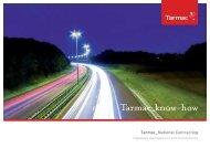 Contracting Highways brochure - Tarmac