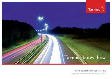 Contracting Highways brochure - Tarmac