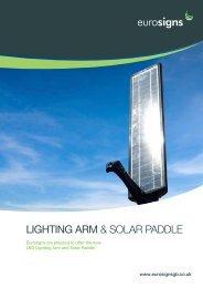 Lighting Arm & solar paddle - Brintex