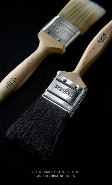 trade quality paint brushes and decorating tools - Brintex