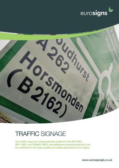 Traffic SIGNAGE - Brintex