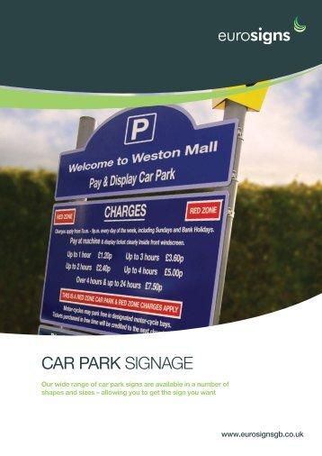 car park SIGNAGE - Brintex