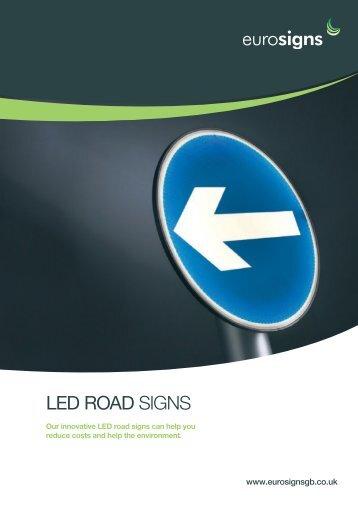 LED roaD SIGNS - Brintex