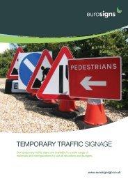 Temporary Traffic SIGNAGE - Brintex