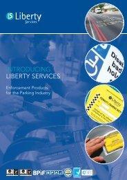INTRODUCING LIBERTY SERVICES - Brintex