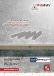 Temporary Safety Barriers DELTABLOC® high ... - Brintex