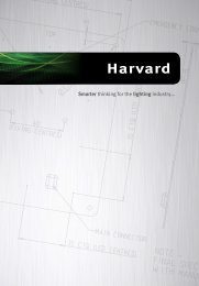 Harvard's CoolLED drivers have provided us with a brilliant ... - Brintex