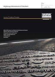 Highways Maintenance Solutions - Brintex