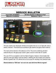 Ilmor Engines & Ethanol in Fuel