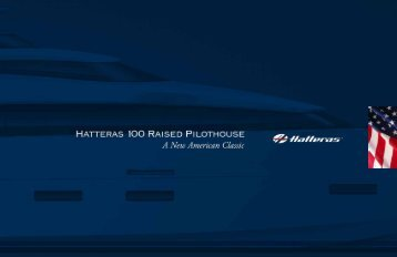 Hatteras 100 Raised Pilothouse