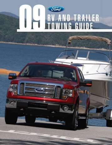 RV and TRaileR Towing guide