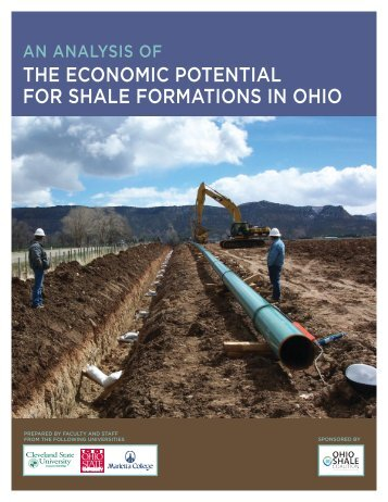 the economic potential for shale formations in ohio - Maryland ...