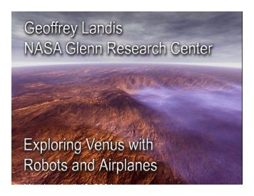 Exploring Venus with Robots and Airplanes