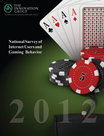 National Survey of Internet Users and Gaming ... - Cleveland.com