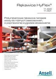 Rękawice HyFlex® - Ansell Healthcare Europe