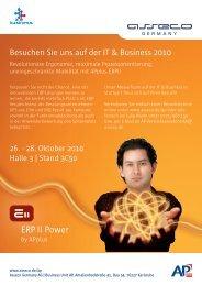 Besuchen Sie uns auf der IT & Business 2010 - APplus