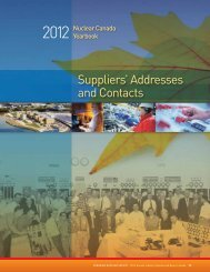 Suppliers' Addresses and Contacts - media.cns-snc.ca - SNC