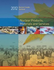 Nuclear Products, Materials and Services - media.cns-snc.ca