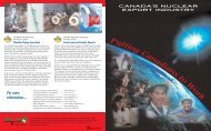 Canada's Nuclear Export Industry - media.cns-snc.ca - SNC