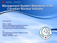Management Systems - media.cns-snc.ca