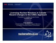 Licensing Nuclear Reactors in Canada - media.cns-snc.ca