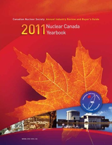 Nuclear Canada Yearbook - media.cns-snc.ca - SNC